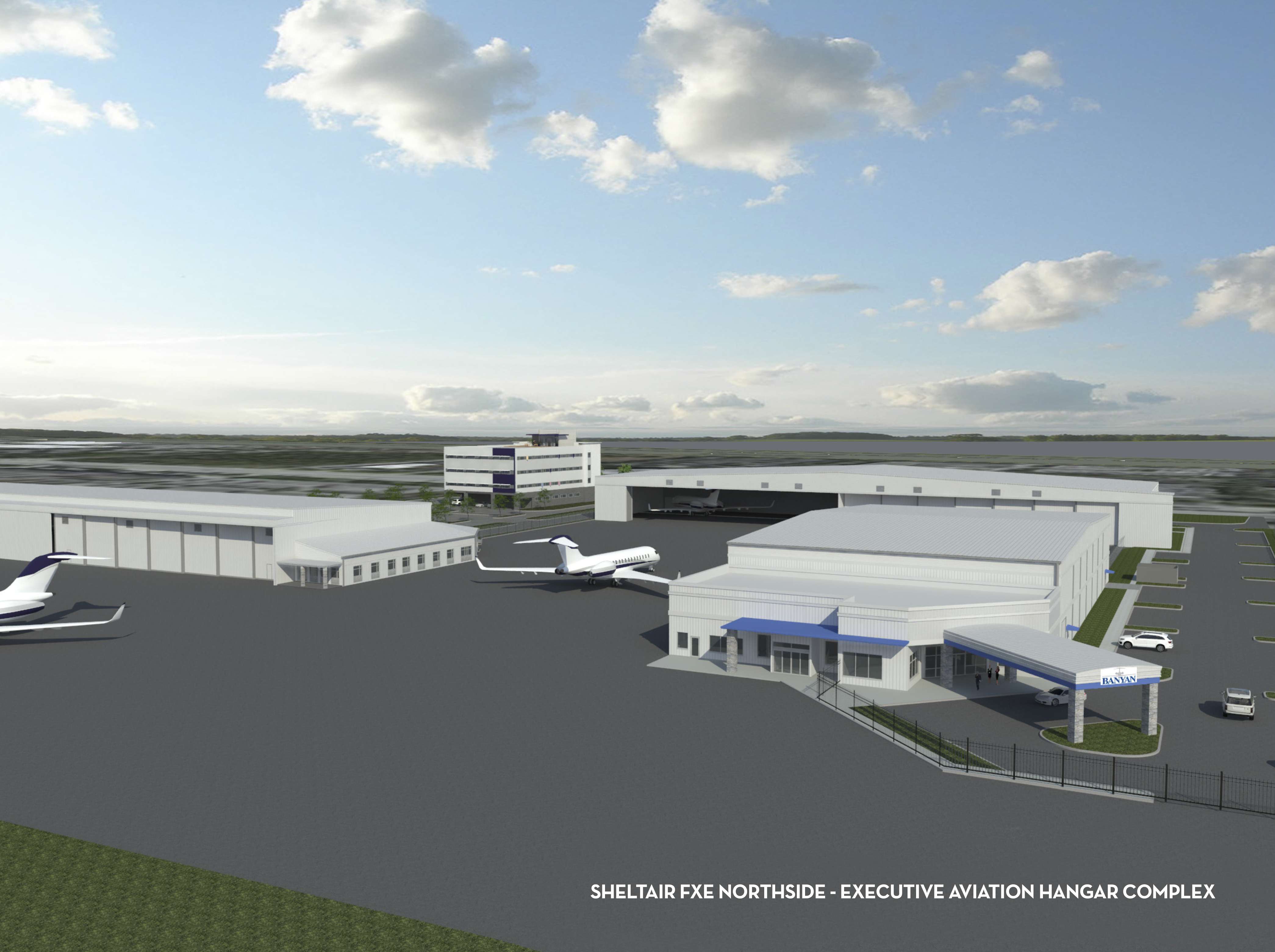 The Alliance - Sheltair starts construction on a new hangar