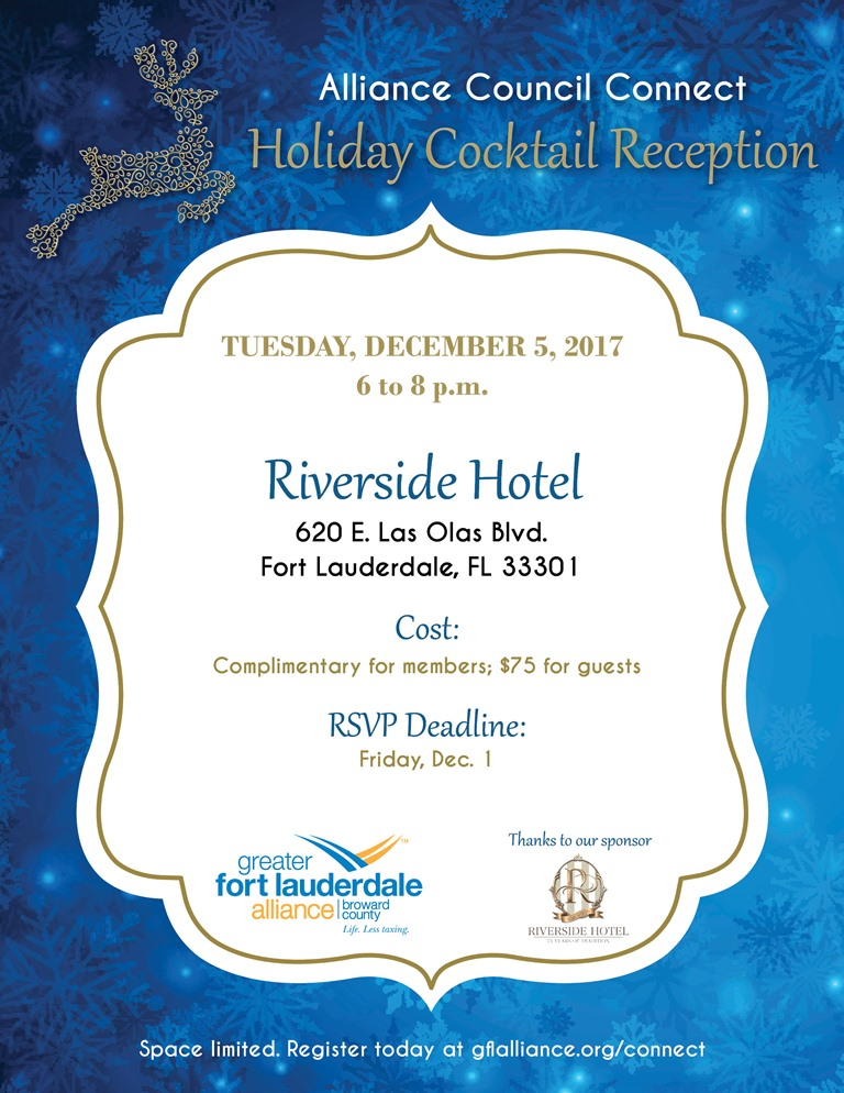 the alliance alliance council connect holiday event riverside